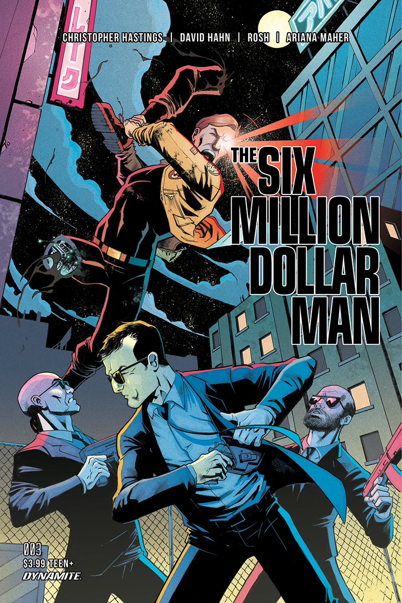 SIX MILLION DOLLAR MAN #3 CVR B GAPSTUR