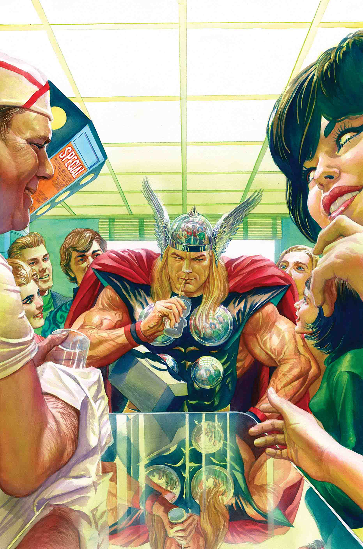 THOR #13 ALEX ROSS MARVELS 25TH VAR WR