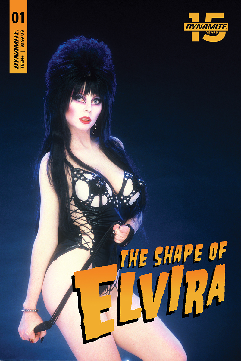 ELVIRA SHAPE OF ELVIRA #1 CGC GRADED PHOTO CVR