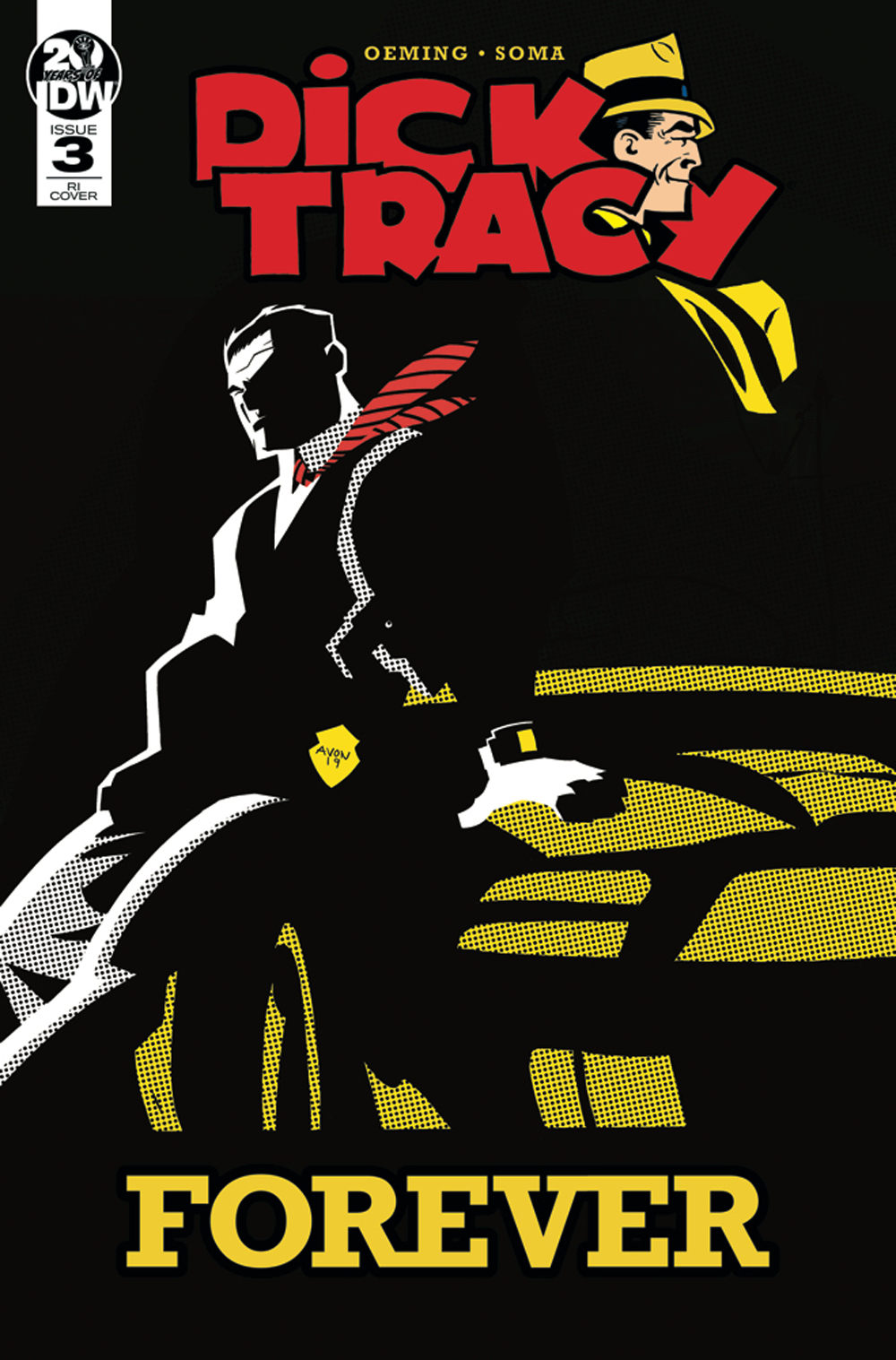 DICK TRACY FOREVER #3 10 COPY INCV OEMING