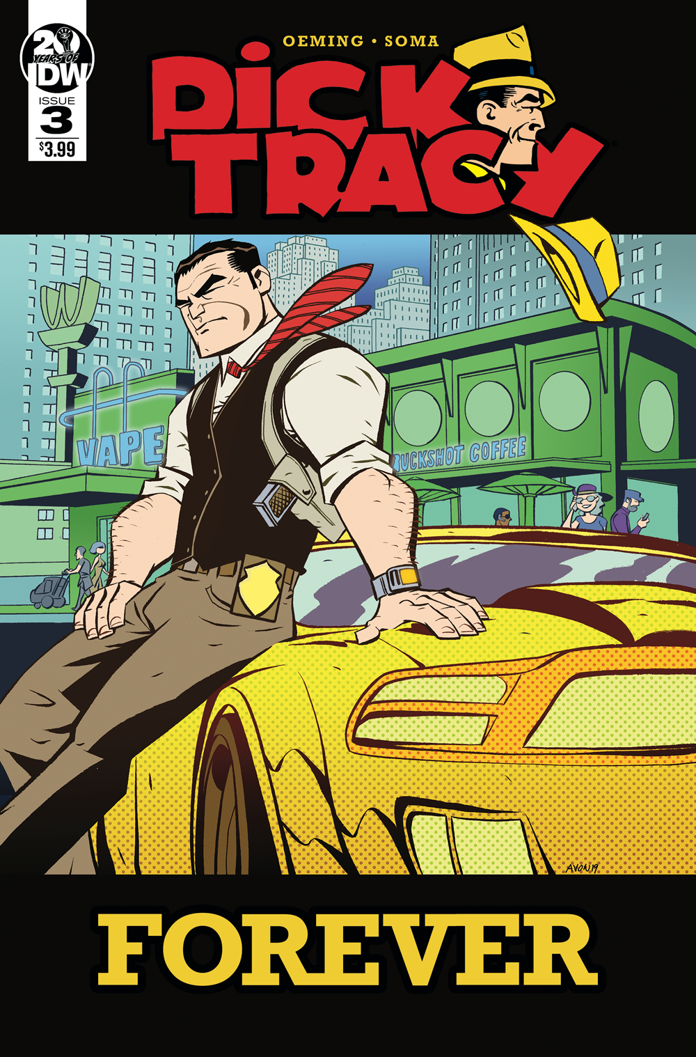 DICK TRACY FOREVER #3 CVR A OEMING