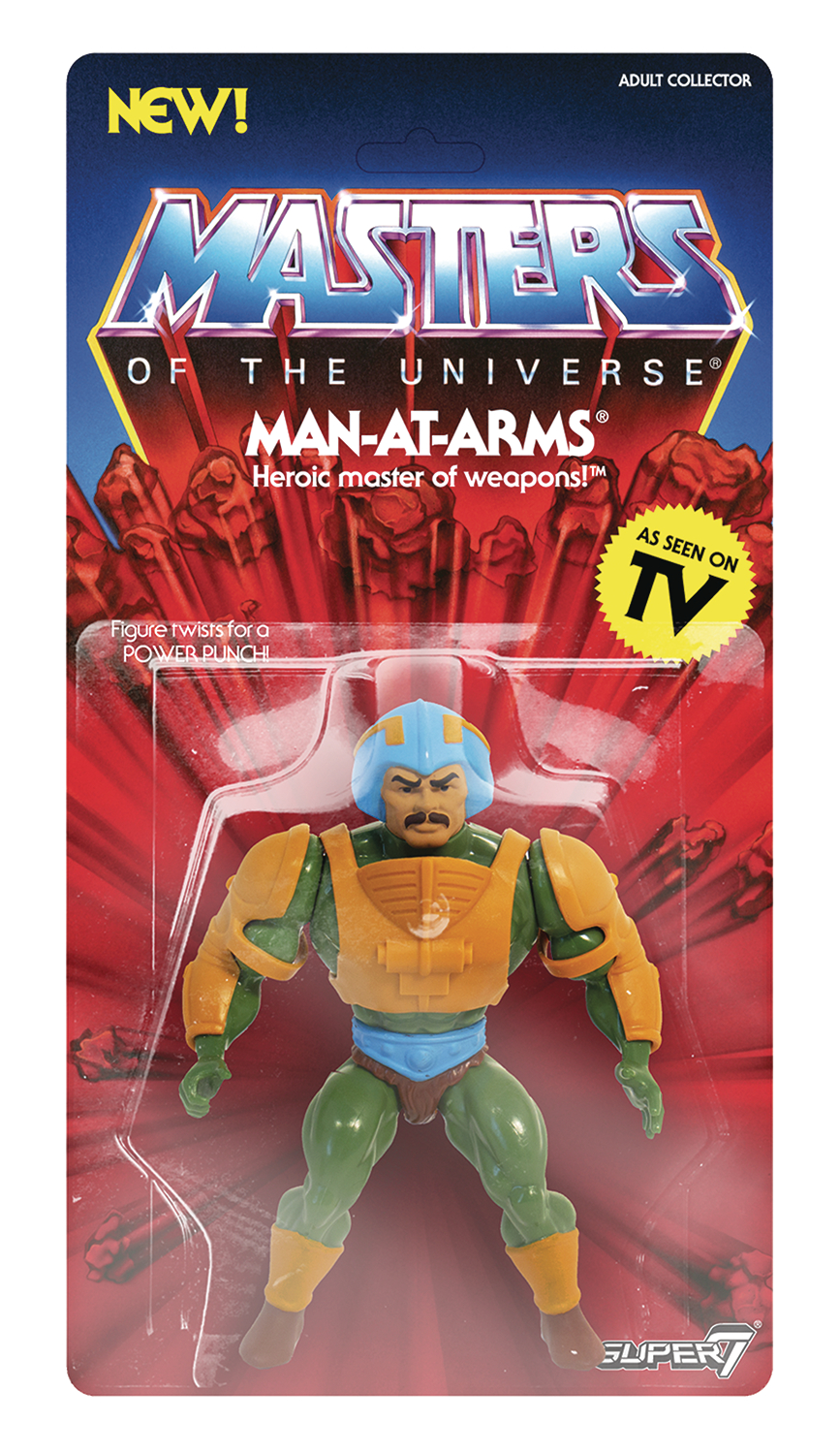 MOTU 5.5IN VINTAGE WAVE 2 MAN-AT-ARMS ACTION FIGURE  (C