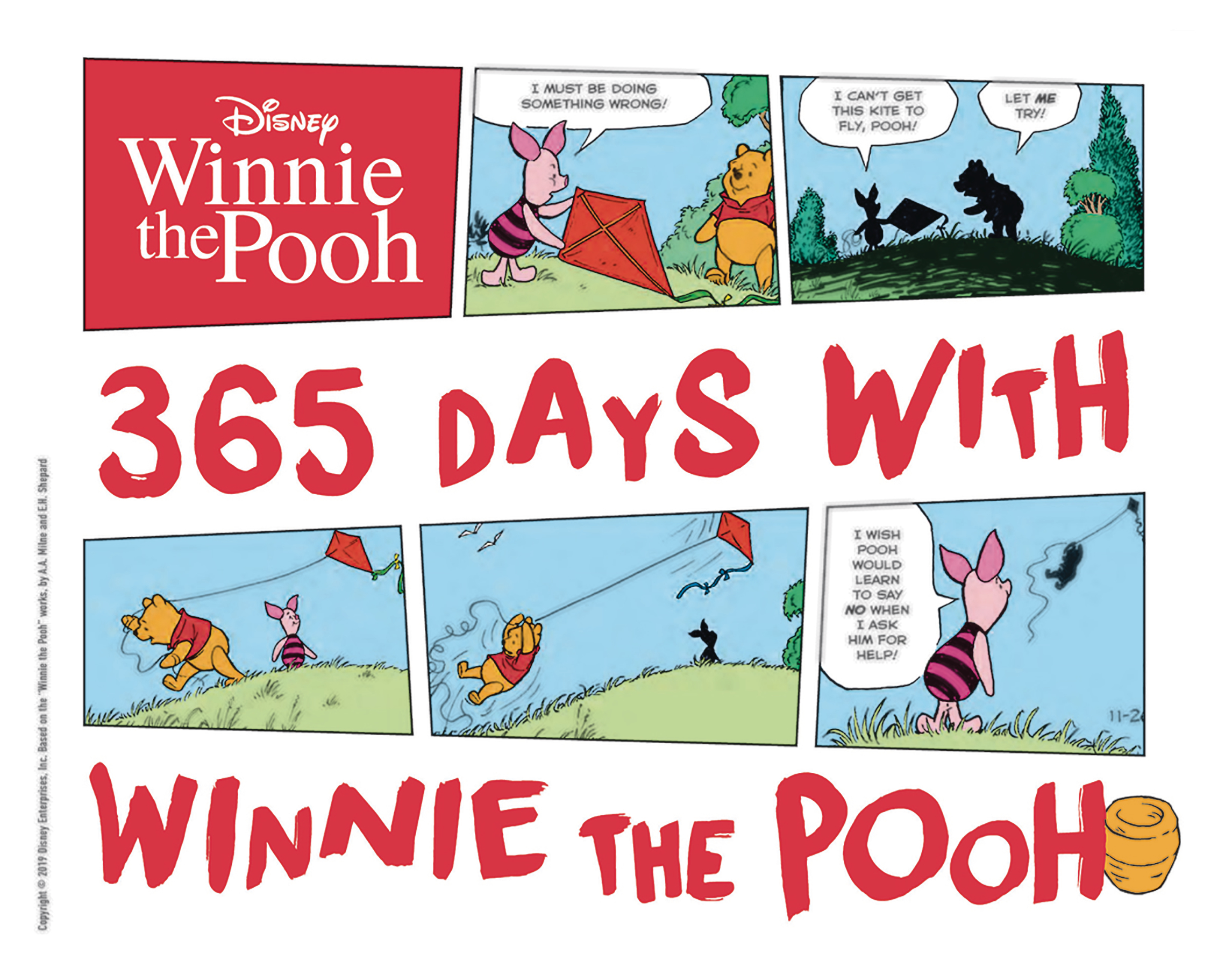 DISNEY 365 DAYS WITH WINNIE THE POOH HC (APR190324)