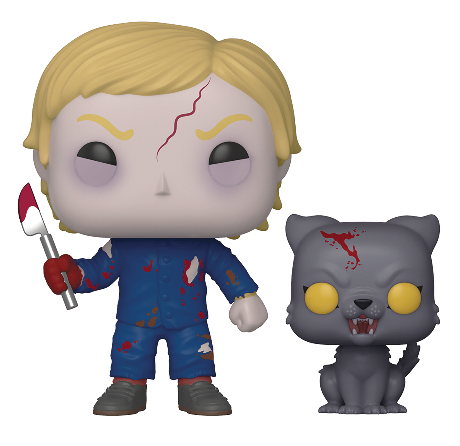 POP & BUDDY PET SEMATARY UNDEAD GAGE & CHURCH VINYL FIG