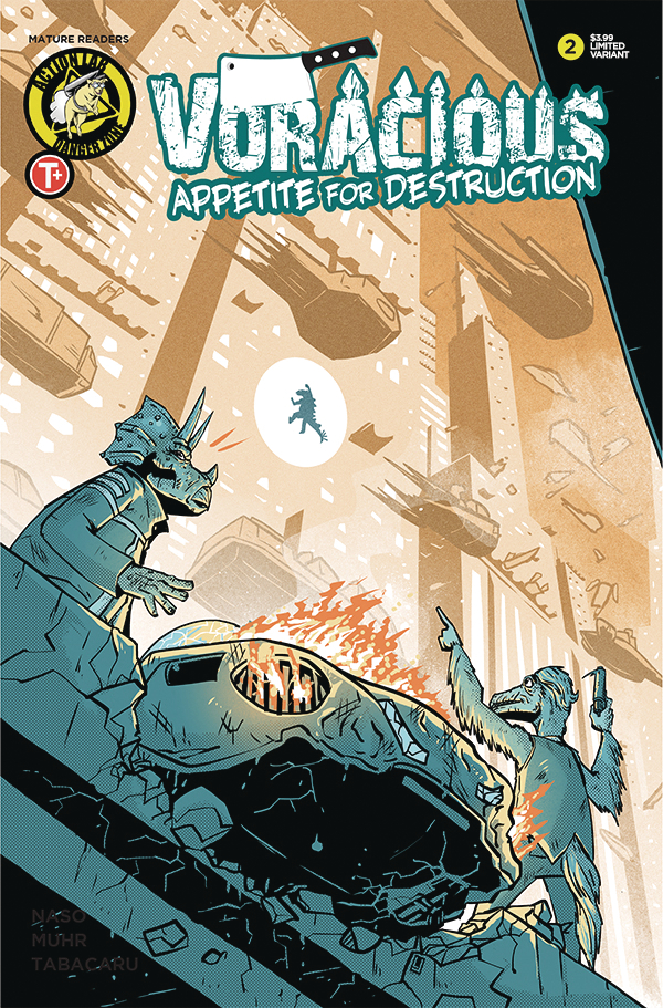 VORACIOUS APPETITE FOR DESTRUCTION #2 CVR B JOYCE