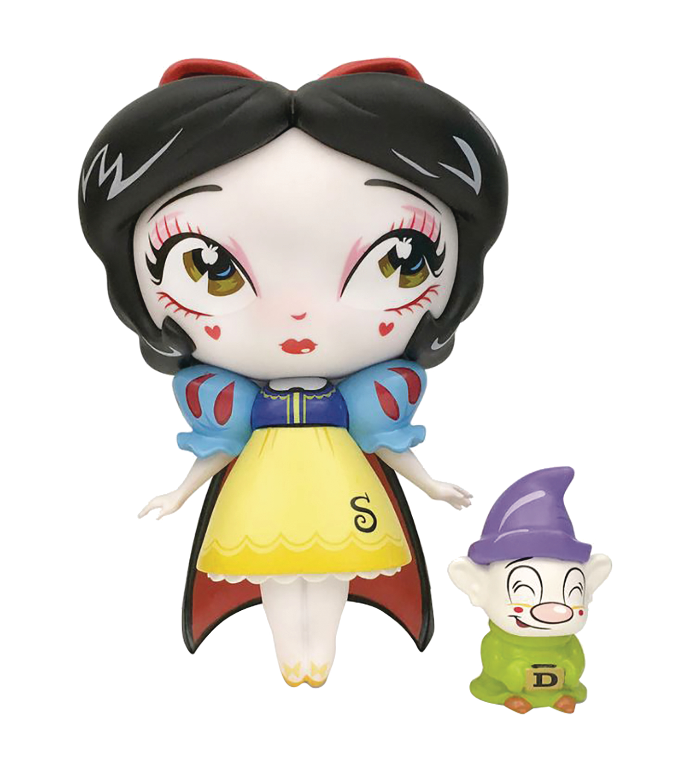 MISS MINDY SNOW WHITE WITH MINI DOPEY VINYL FIGURE