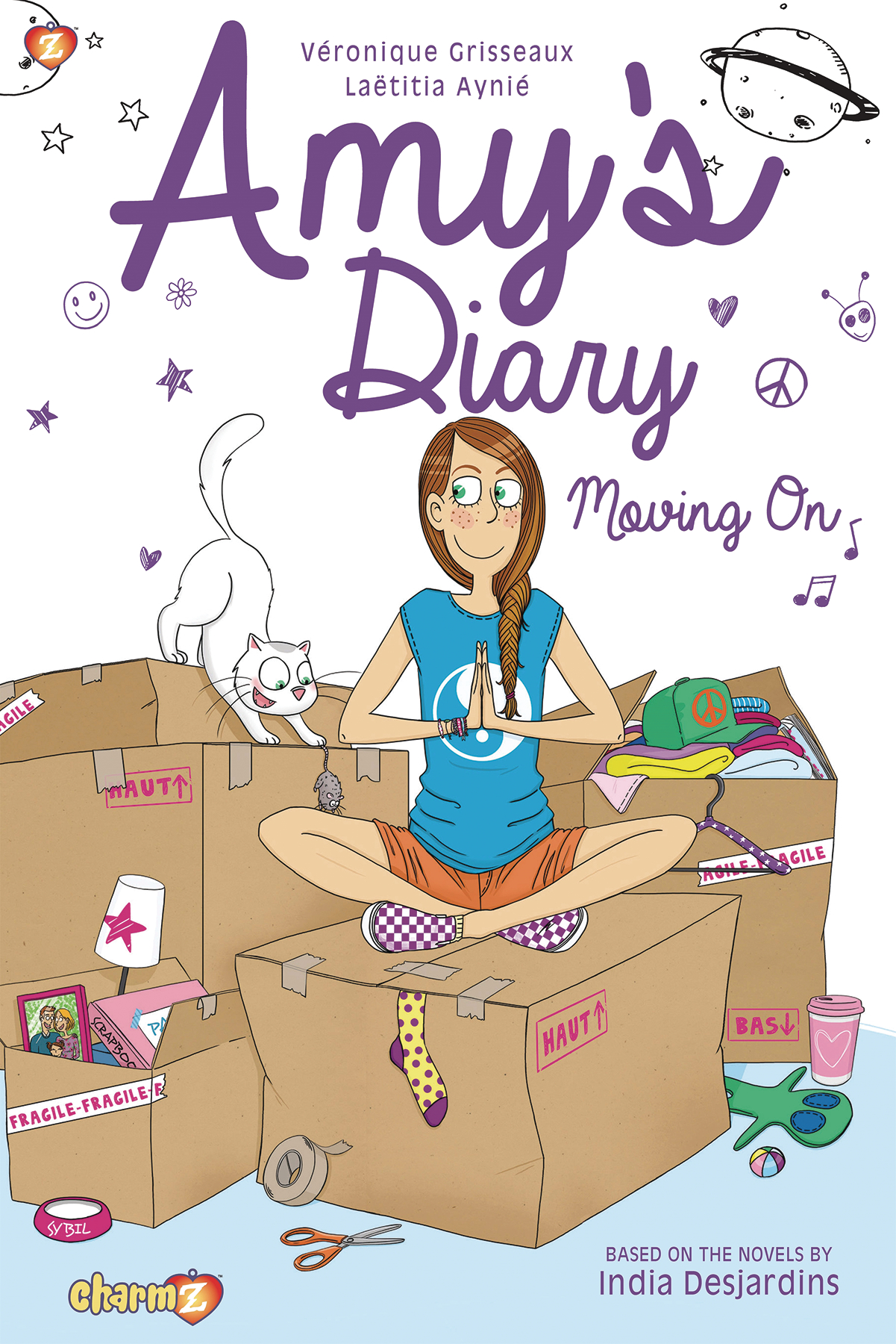 AMYS DIARY GN VOL 03 MOVING ON