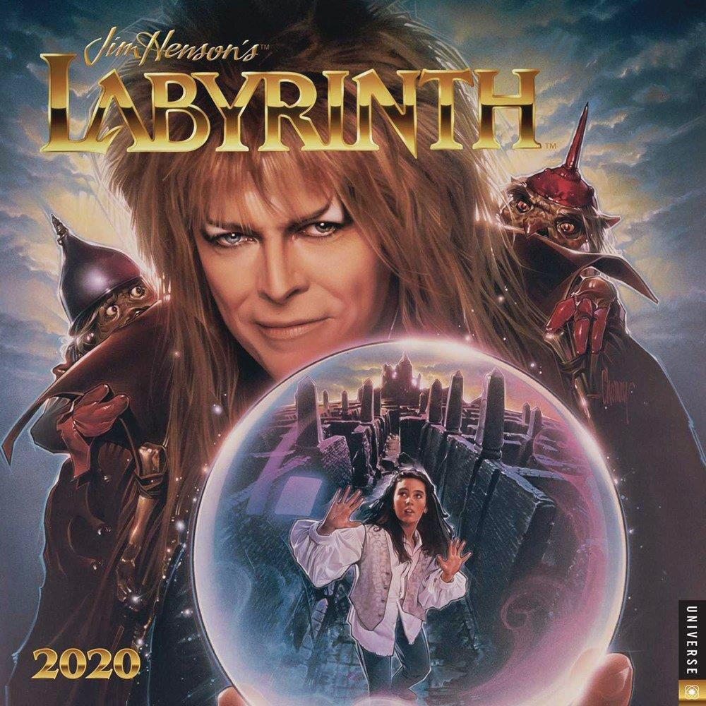 JIM HENSONS LABYRINTH 2020 WALL CALENDAR
