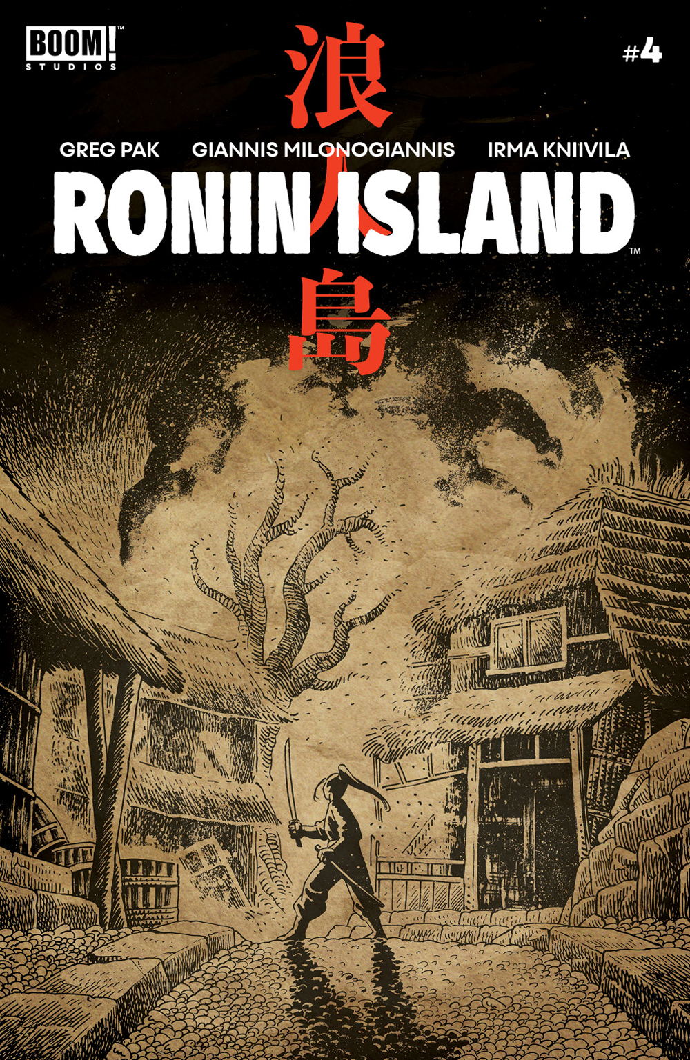 RONIN ISLAND #4 PREORDER YOUNG VAR