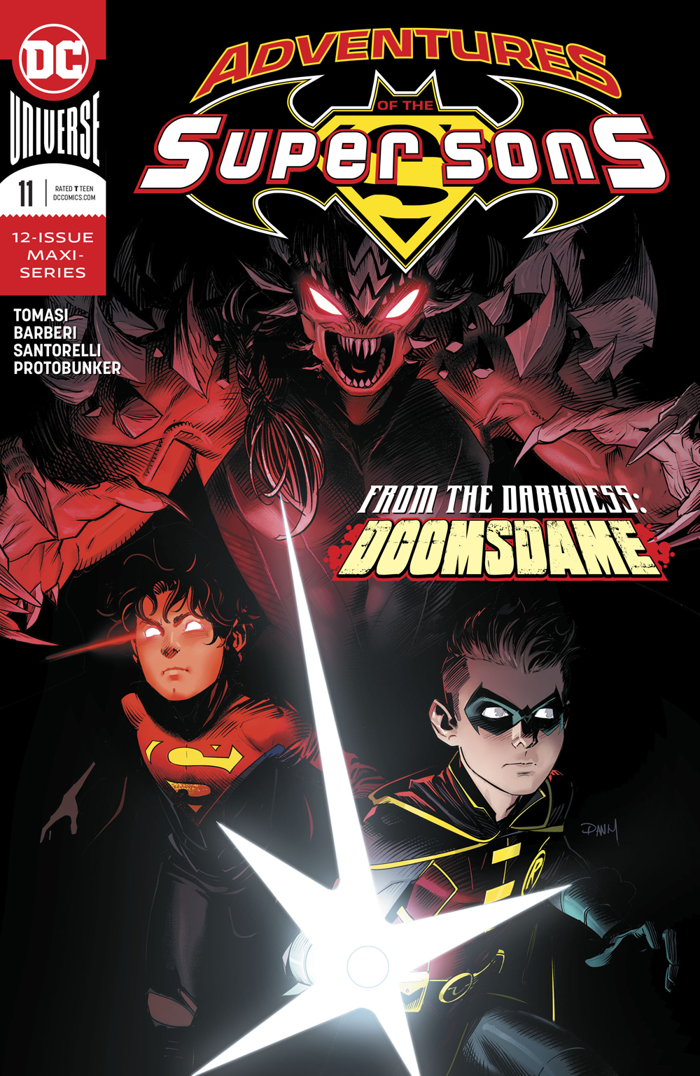ADVENTURES OF THE SUPER SONS #11 (OF 12)