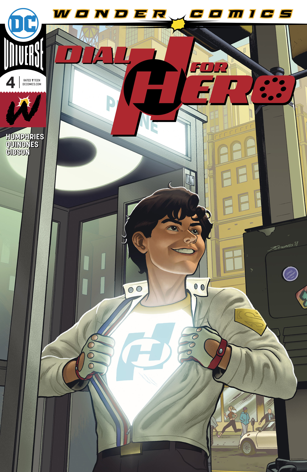 DIAL H FOR HERO #4 (OF 6)