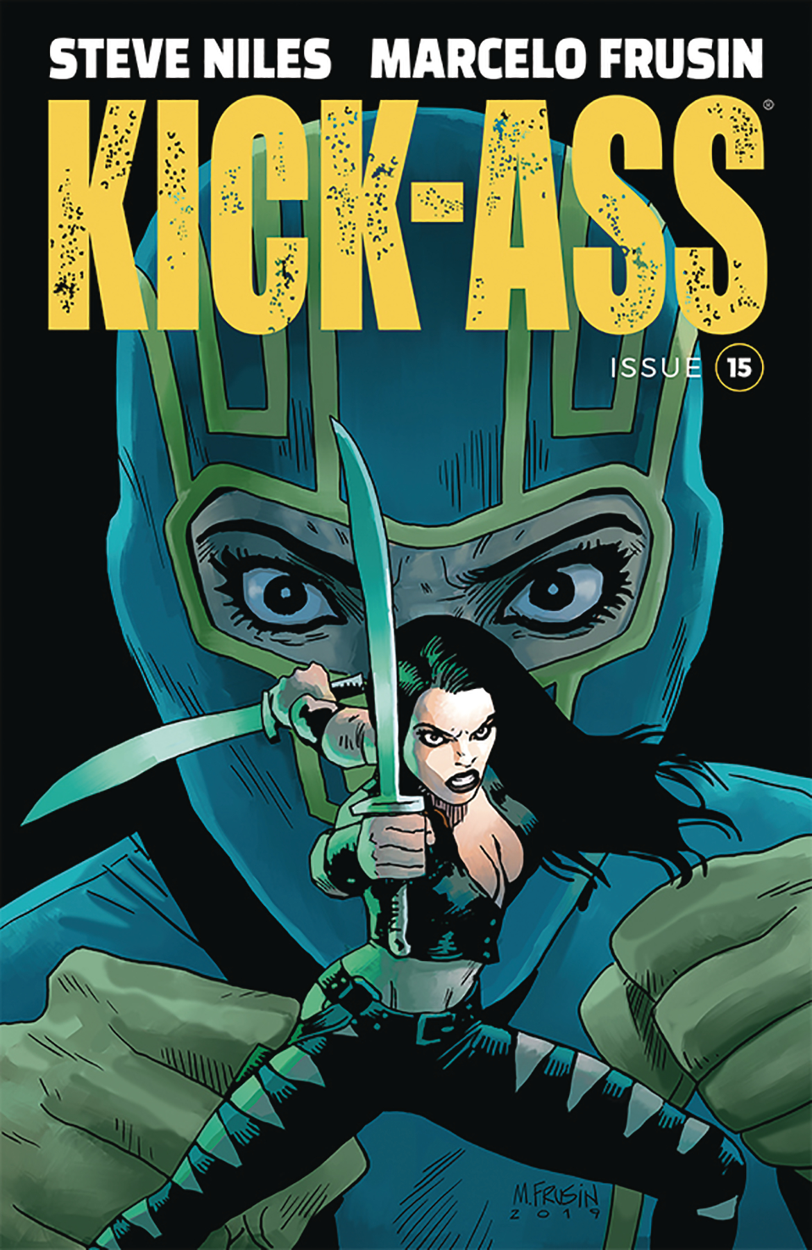 KICK-ASS #15 CVR A FRUSIN (MR)