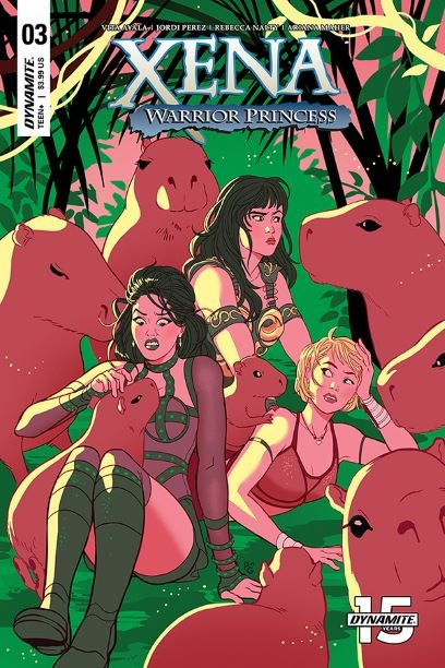 XENA WARRIOR PRINCESS #3 CVR C GANUCHEAU
