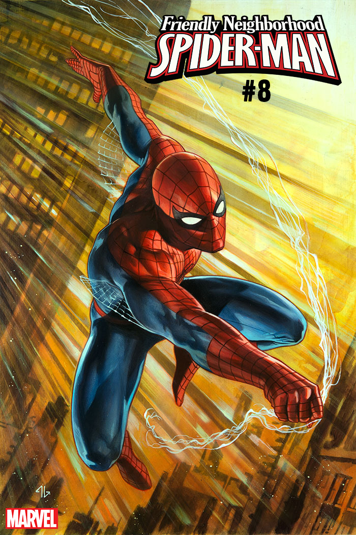 FRIENDLY NEIGHBORHOOD SPIDER-MAN #8 GRANOV SPIDER-MAN IRON S