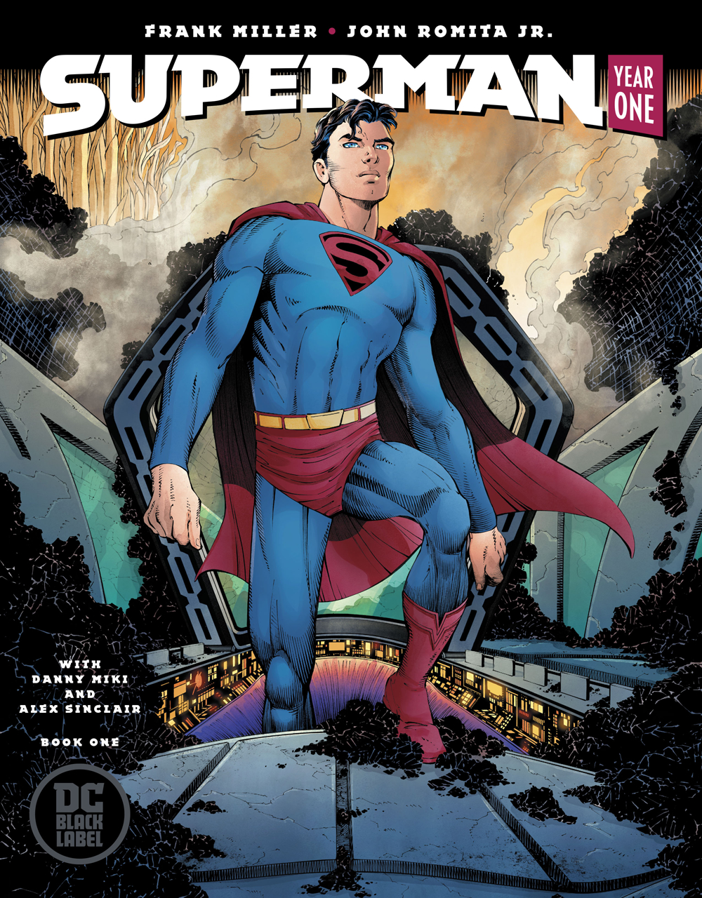 SUPERMAN YEAR ONE #1 (OF 3) ROMITA COVER (MR)
