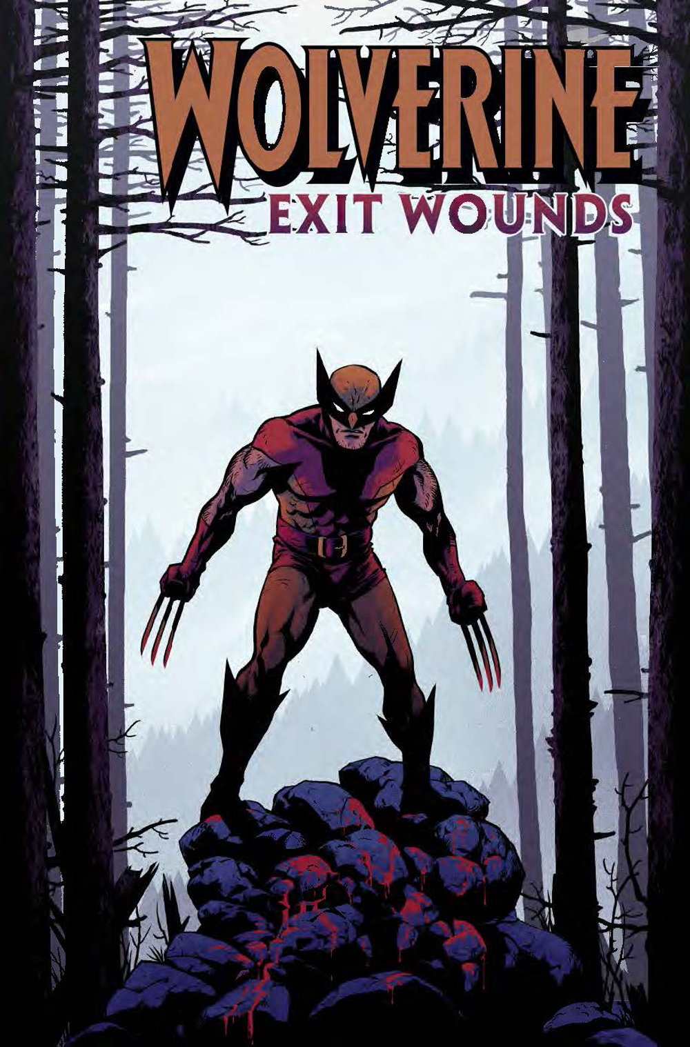 WOLVERINE EXIT WOUNDS #1 CLOONAN VAR