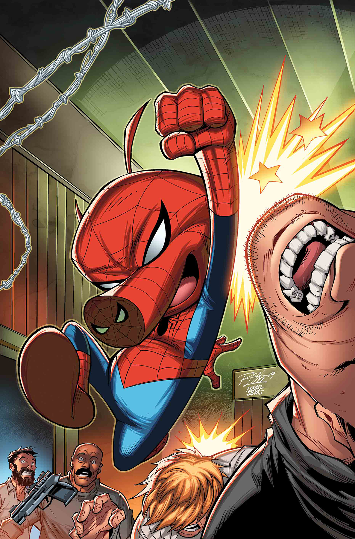 SPIDER-MAN ANNUAL #1 LIM VAR