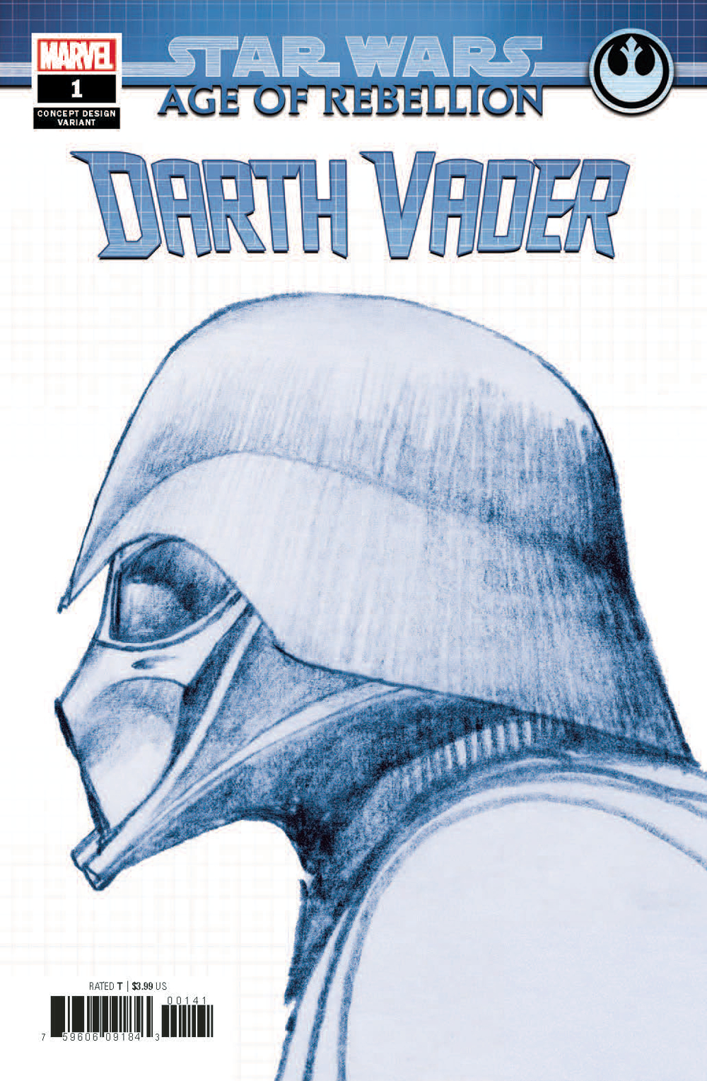 STAR WARS AOR DARTH VADER #1 CONCEPT VAR