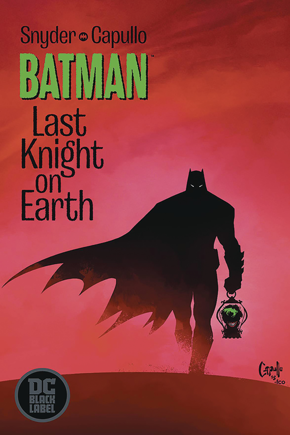 DF BATMAN LAST KNIGHT ON EARTH #1 SGN SNYDER