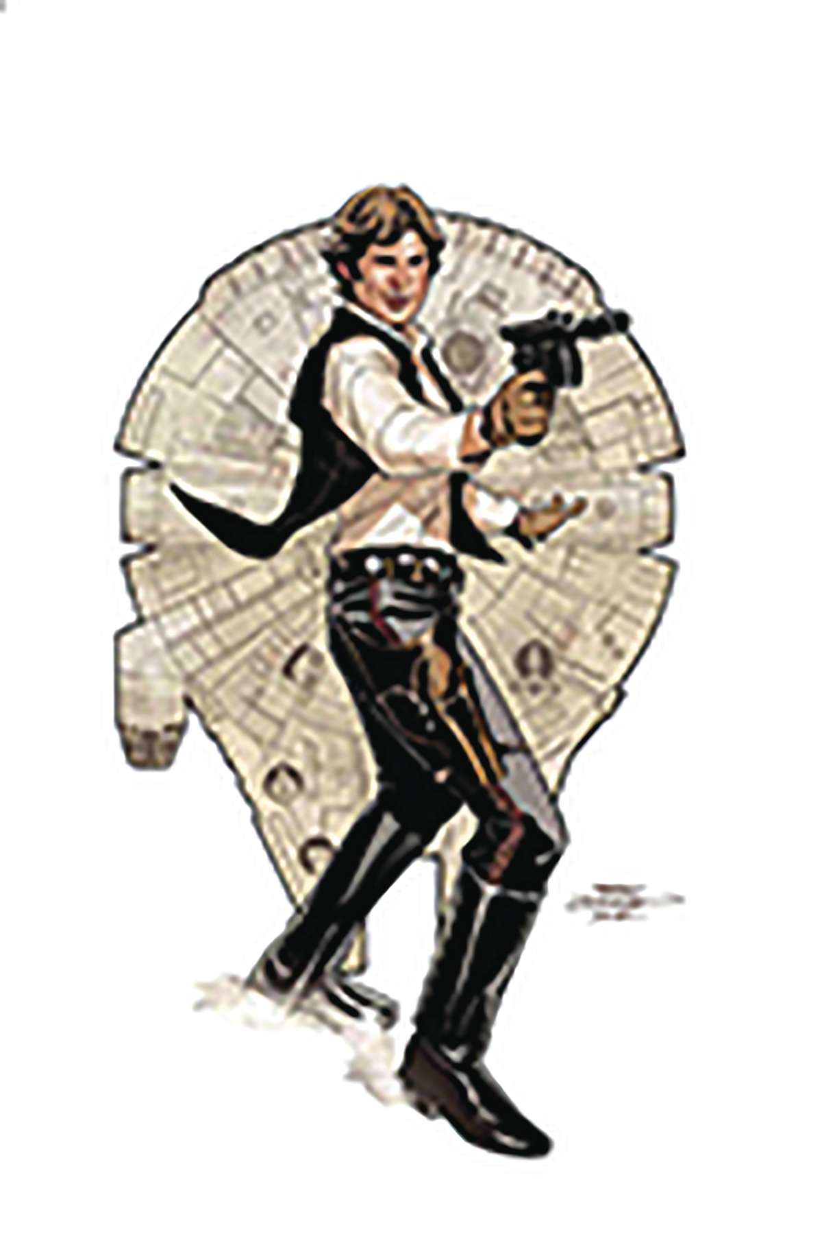 DF STAR WARS AGE OF REBELLION HAN SOLO #1 SGN DODSON