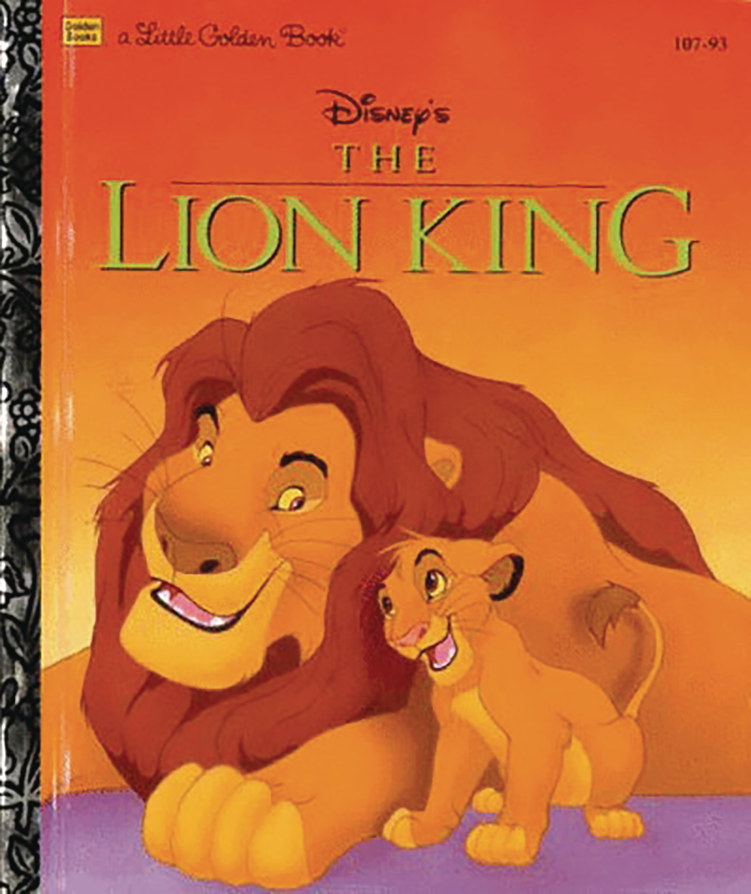 DISNEY LION KING BIG GOLDEN BOOK