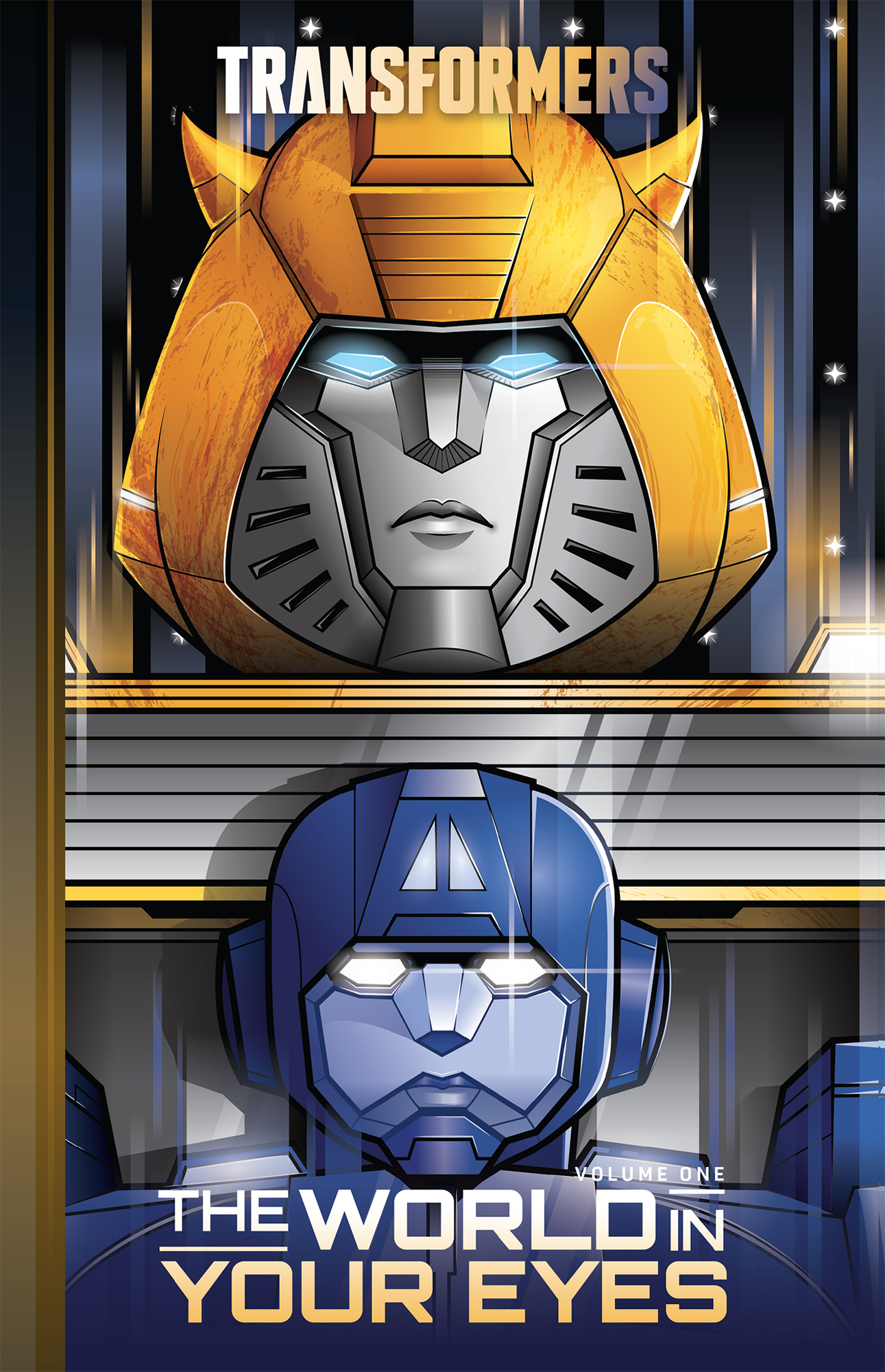 TRANSFORMERS VOL 01 WORLD IN YOUR EYES HC