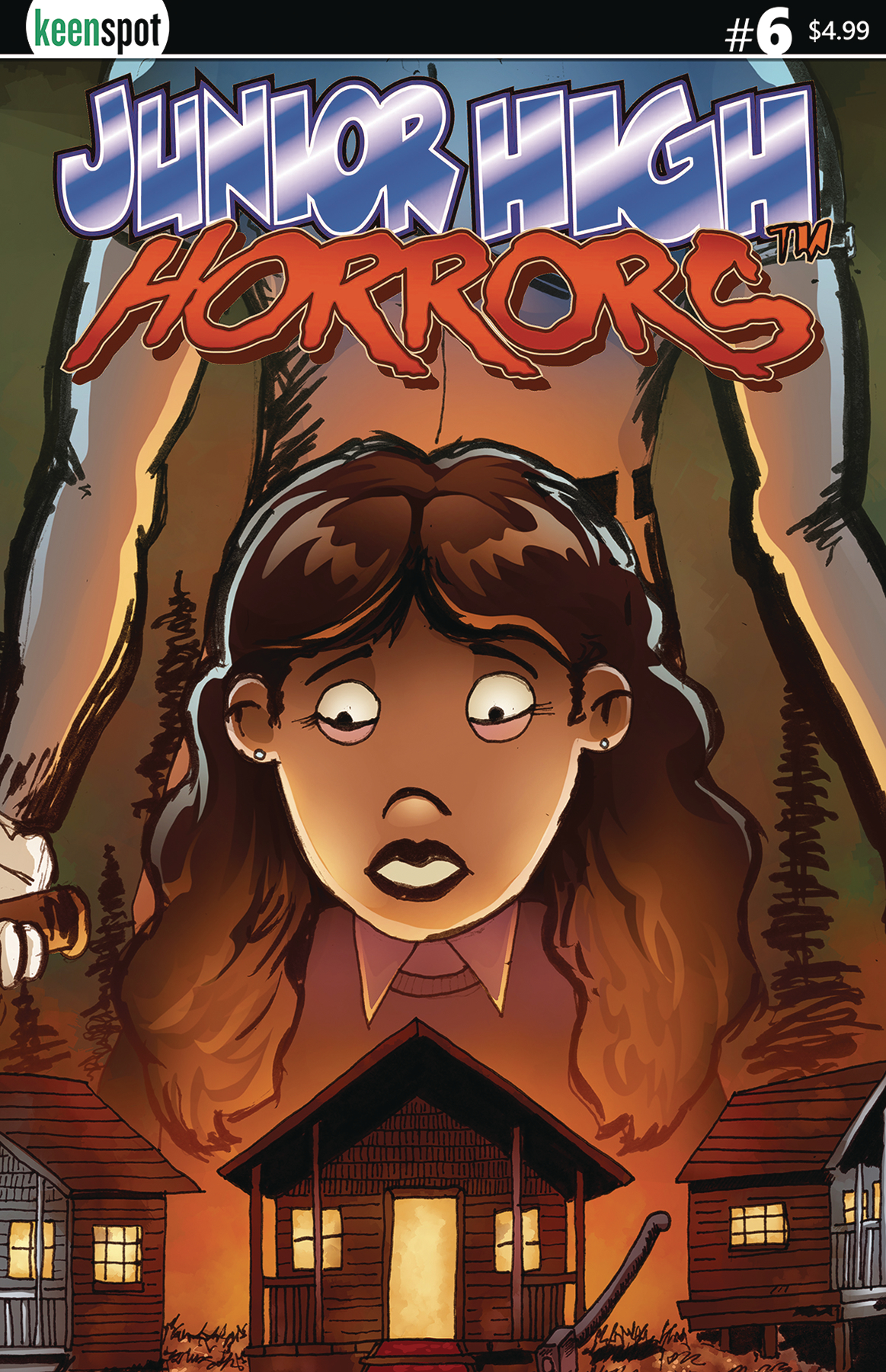 JUNIOR HIGH HORRORS #6 CVR D SLEEPAWAY CAMP 5 COPY INCV CVR