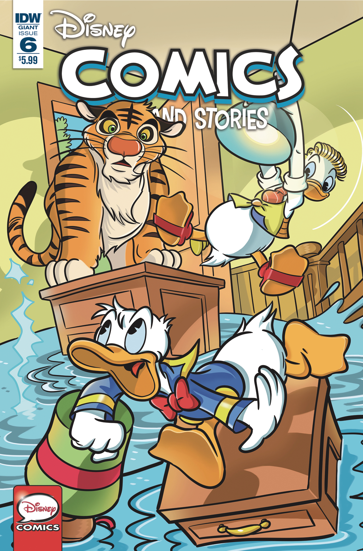 DISNEY COMICS AND STORIES #6 CVR A MAZZARELLO