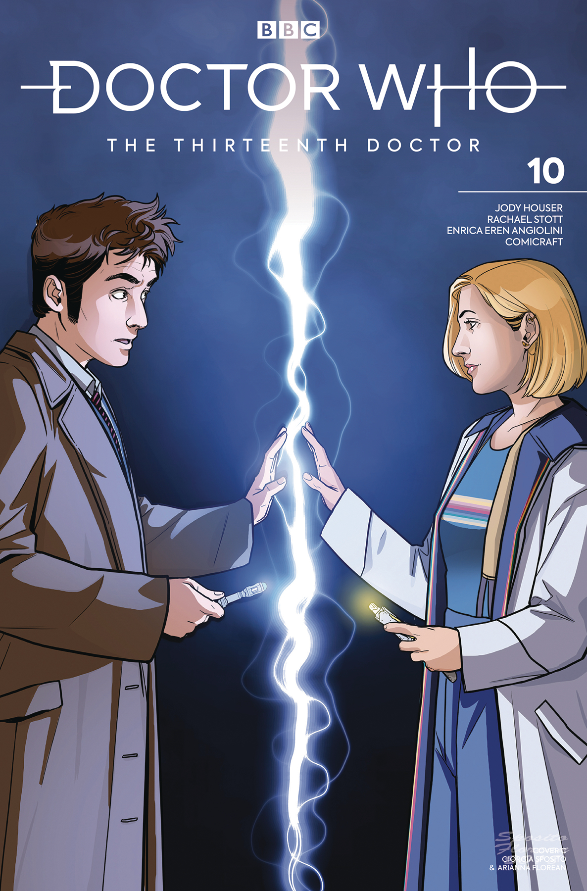 DOCTOR WHO 13TH #10 CVR C 10TH DOCTOR