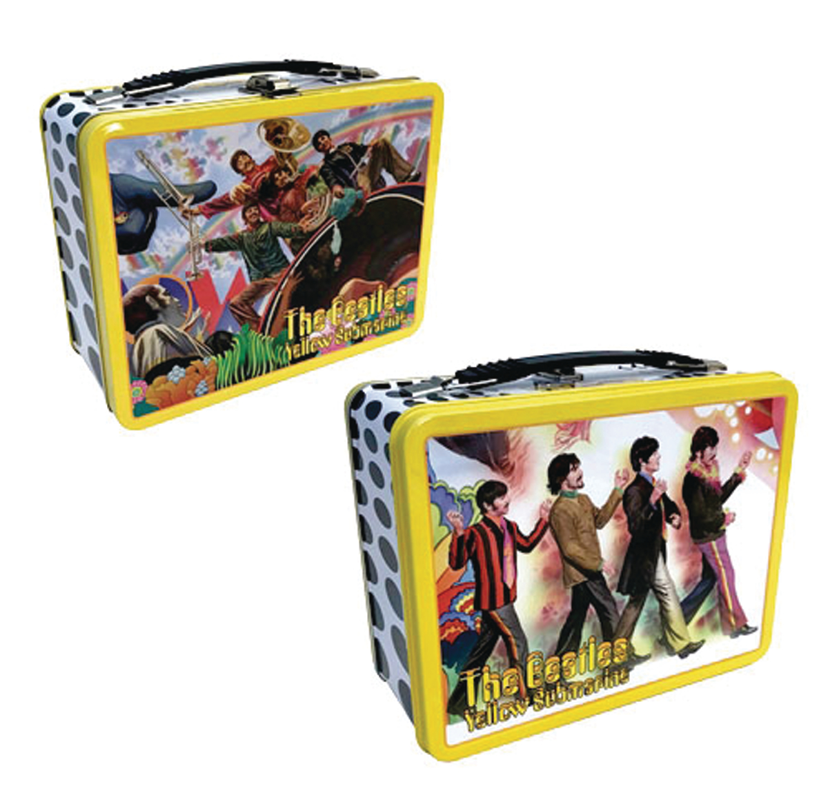 BEATLES ALEX ROSS YELLOW SUBMARINE TIN TOTE