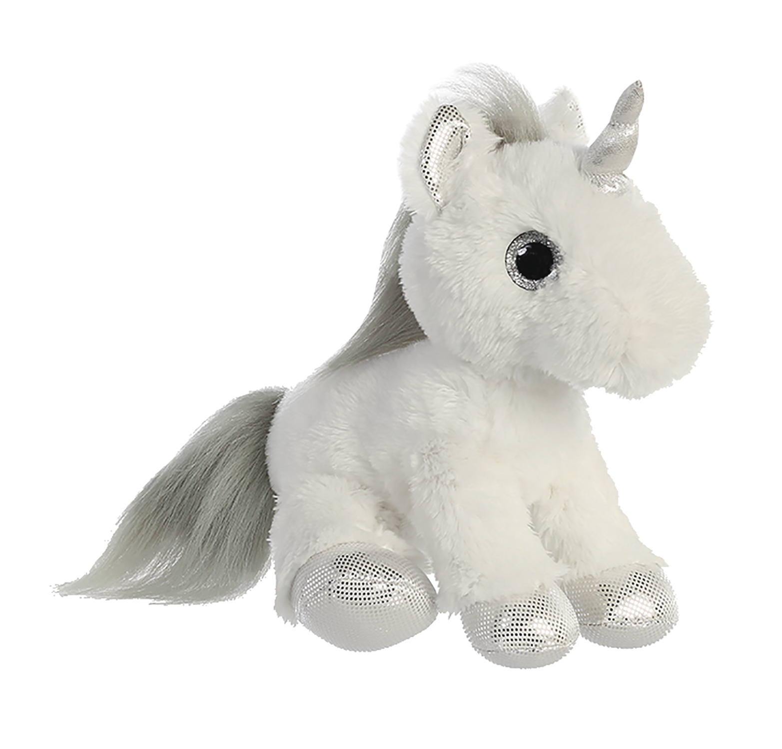 AURORA SILVER UNICORN 12IN PLUSH (FEB198088)