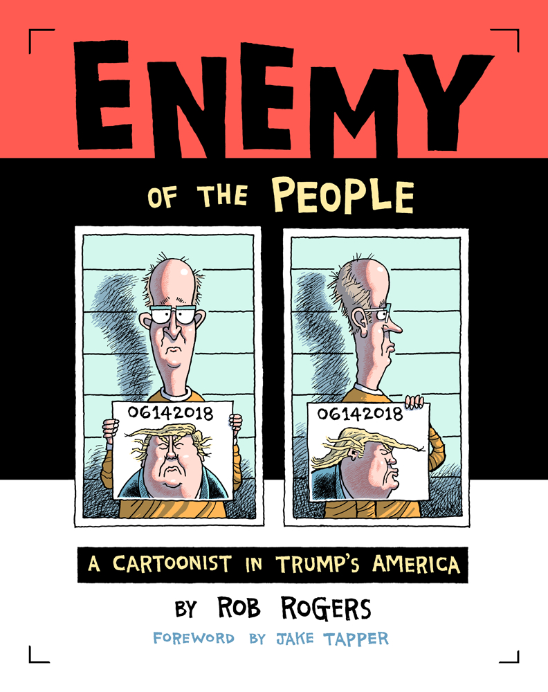 ENEMY OF PEOPLE HC CARTOONISTS JOURNEY