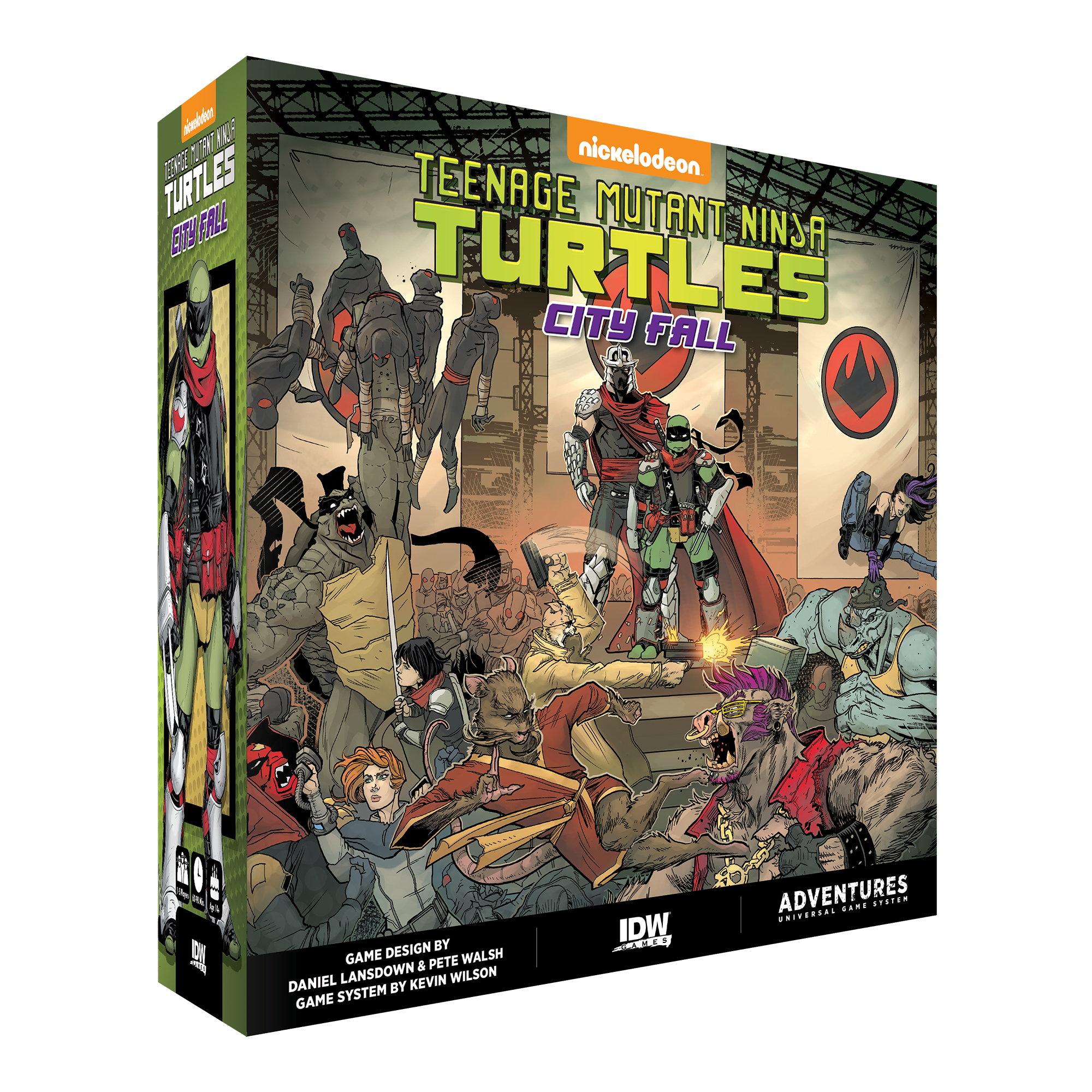 TMNT ADVENTURES CITY FALL