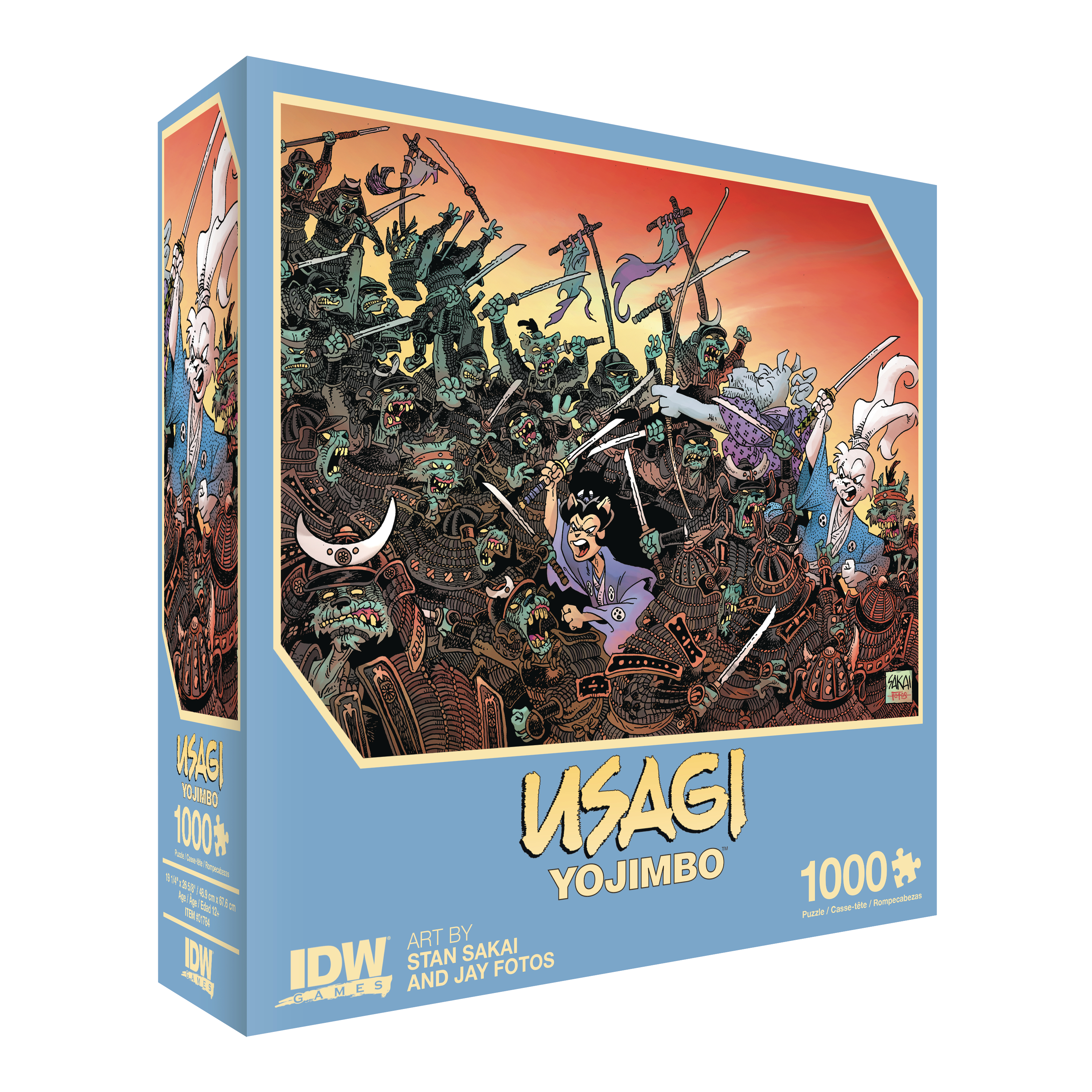 USAGI YOJIMBO TRAITORS OF EARTH PREMIUM PUZZLE (MAY190677) (