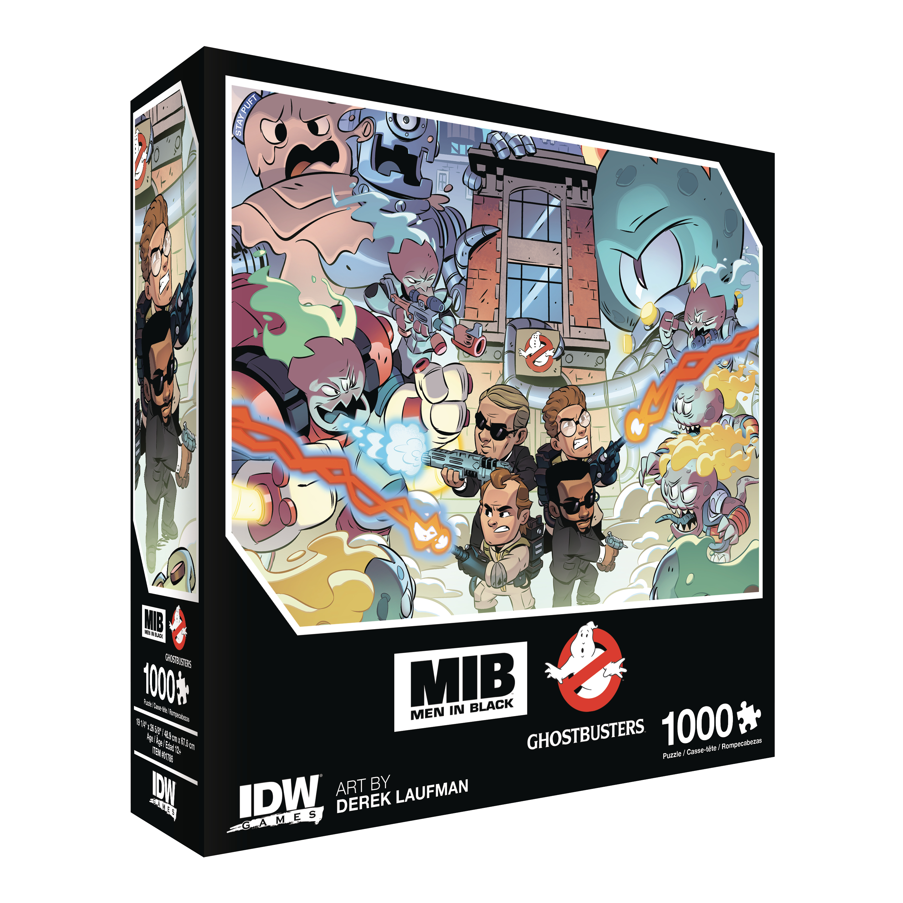 MEN IN BLACK GHOSTBUSTERS INVASION PREMIUM PUZZLE