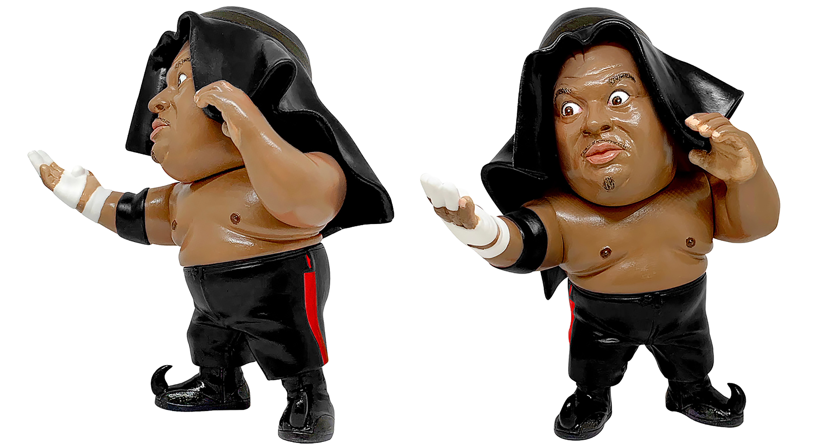 16D COLL LEGEND MASTERS ABDULLAH THE BUTCHER VINYL FIG BLK (