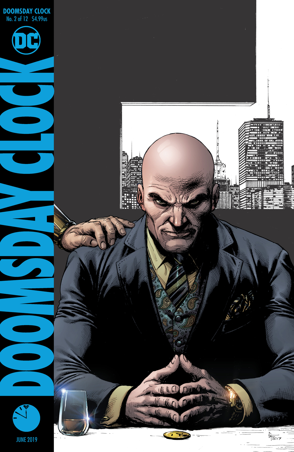 DOOMSDAY CLOCK #2 (OF 12) FINAL PTG