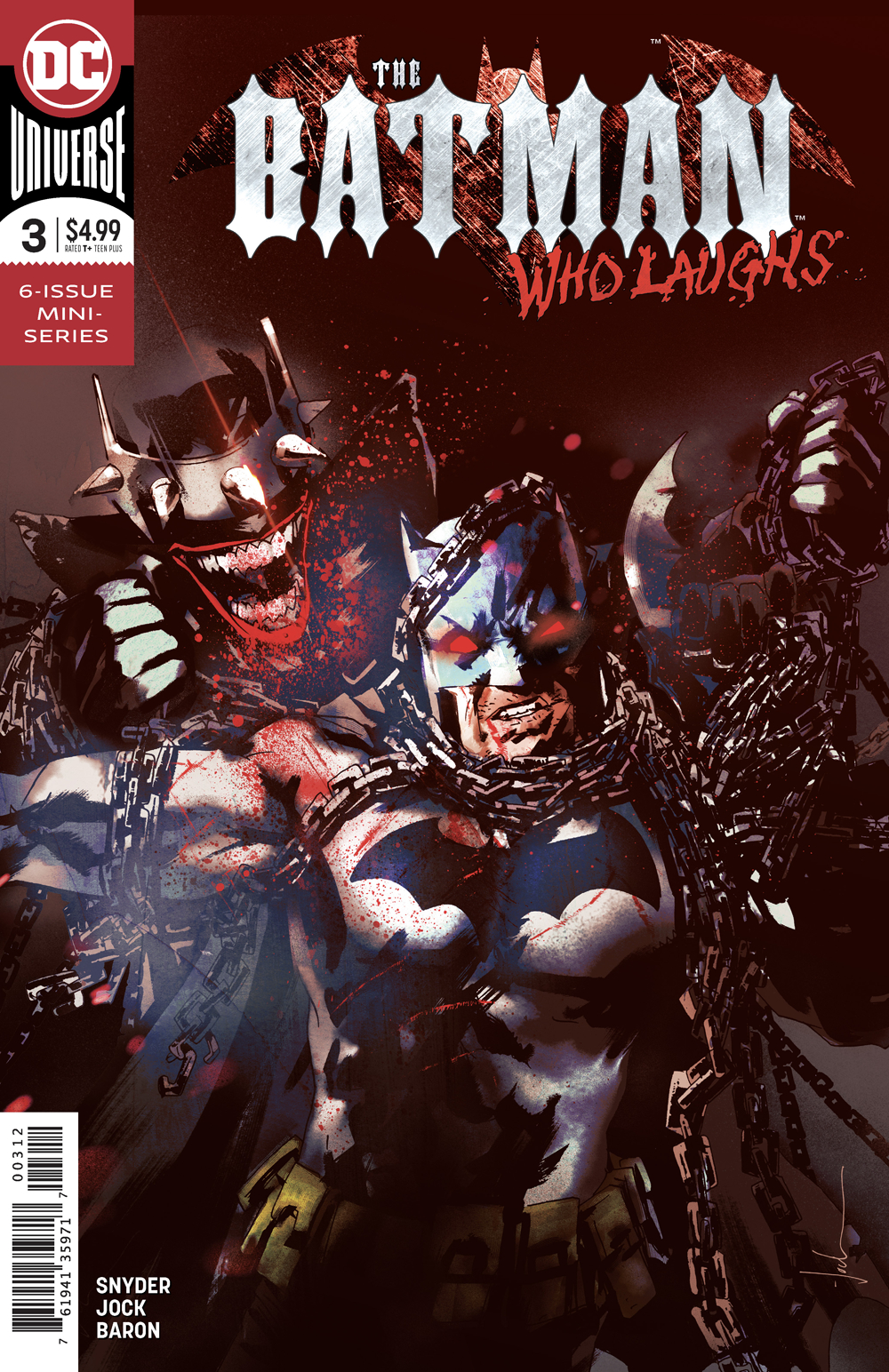 BATMAN WHO LAUGHS #3 (OF 6) FINAL PTG