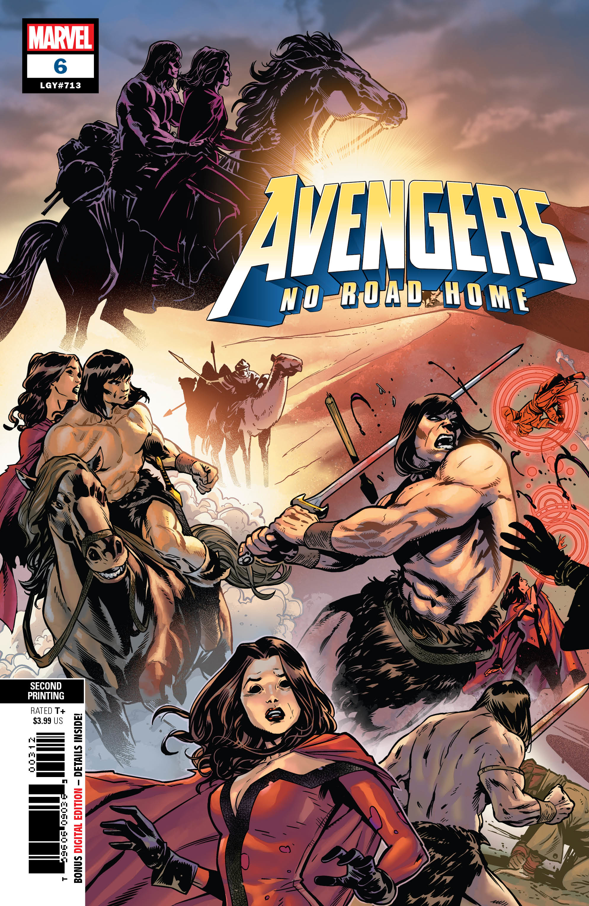 AVENGERS NO ROAD HOME #6 (OF 10) 2ND PTG IZAAKSE VAR