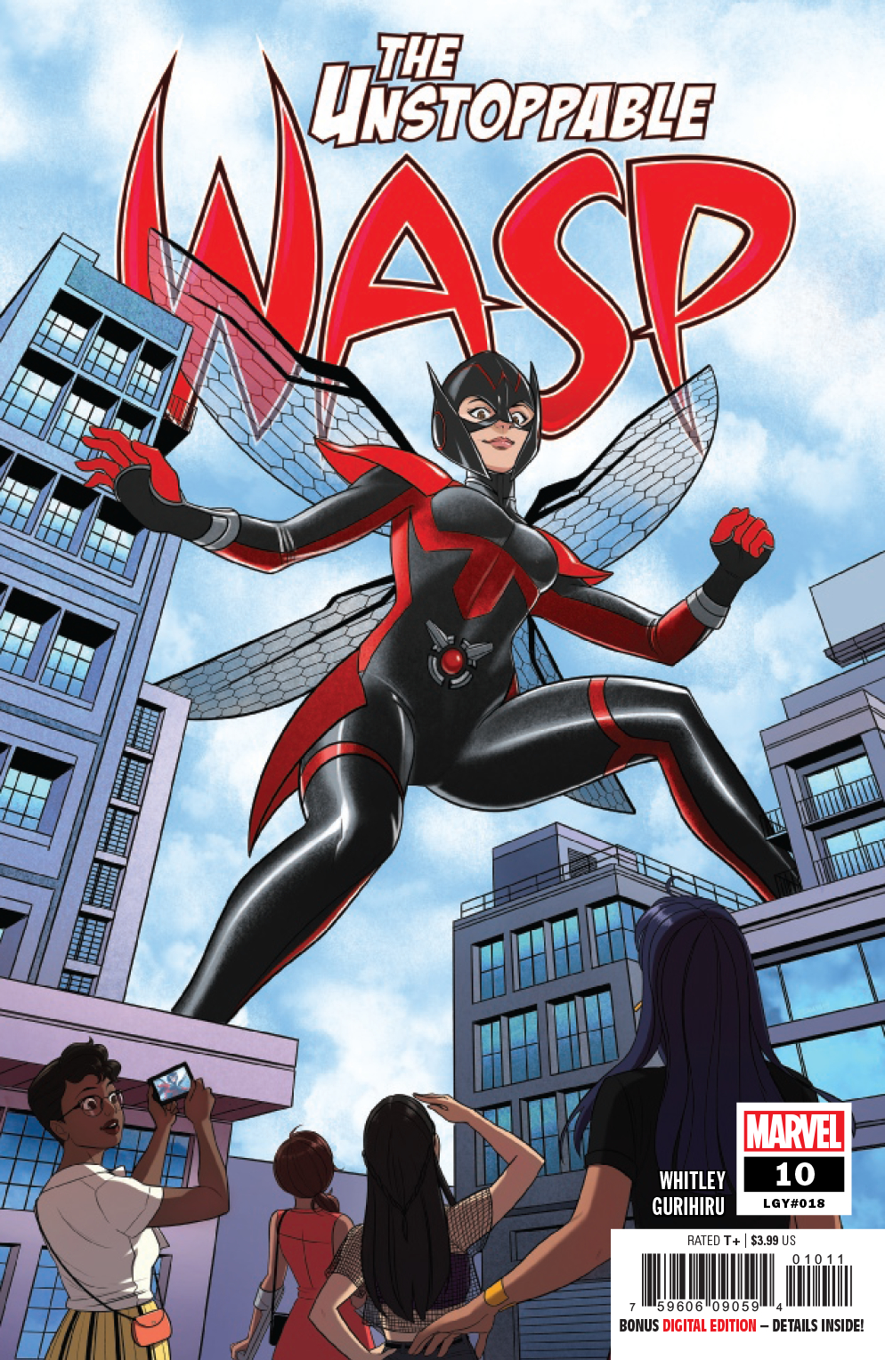 UNSTOPPABLE WASP #10