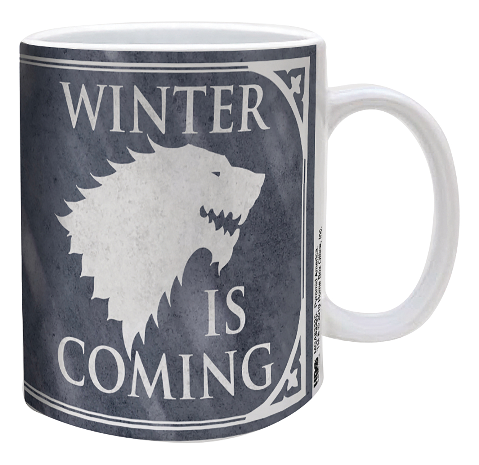 GAME OF THRONES WINTER IS COMING 11OZ MUG