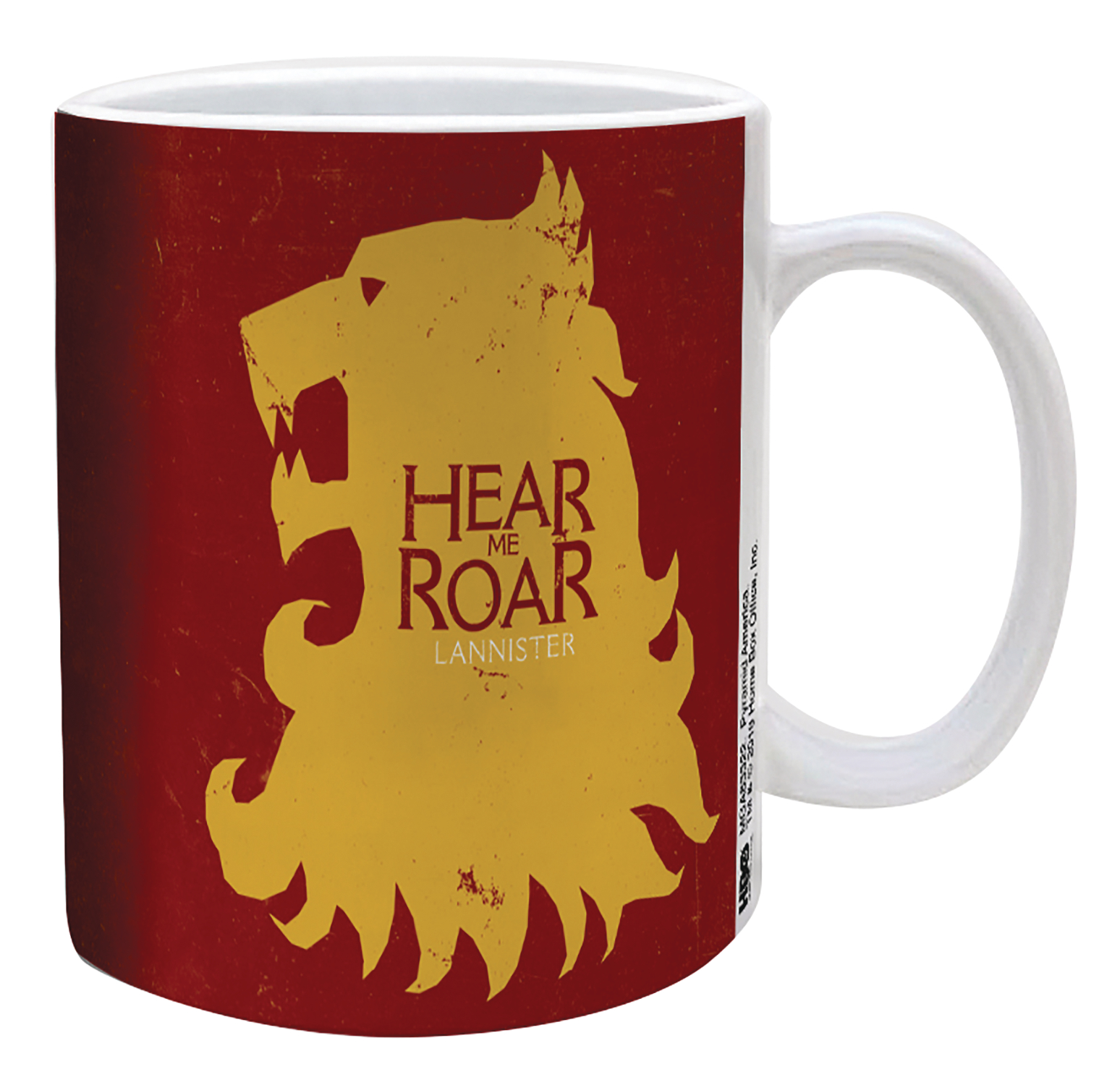GAME OF THRONES LANNISTER SIGIL 11OZ MUG