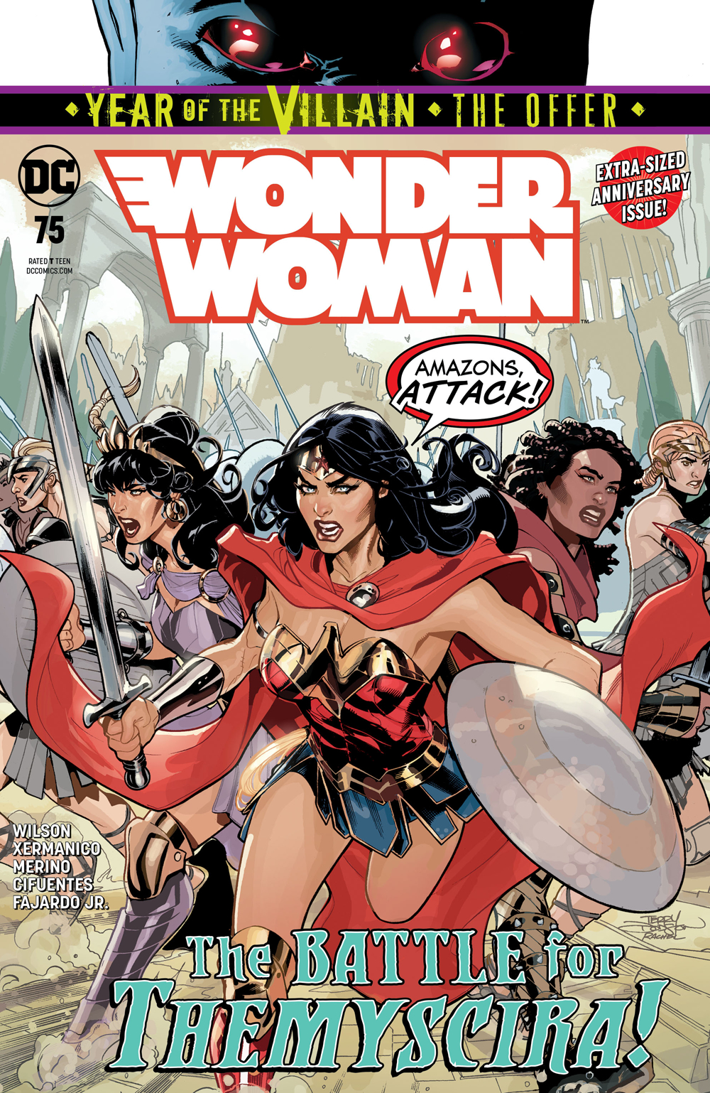 WONDER WOMAN #75 YOTV THE OFFER