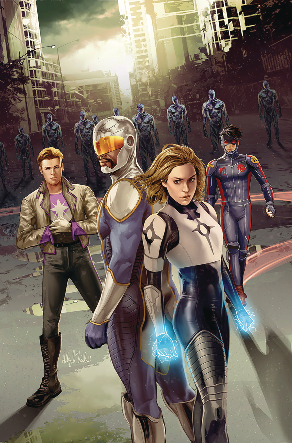 CATALYST PRIME SEVEN DAYS #1 (OF 7) SEJIC VAR (RES)