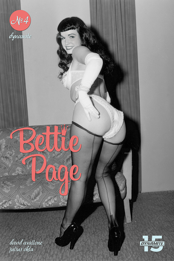 BETTIE PAGE UNBOUND #4 CVR E PHOTO