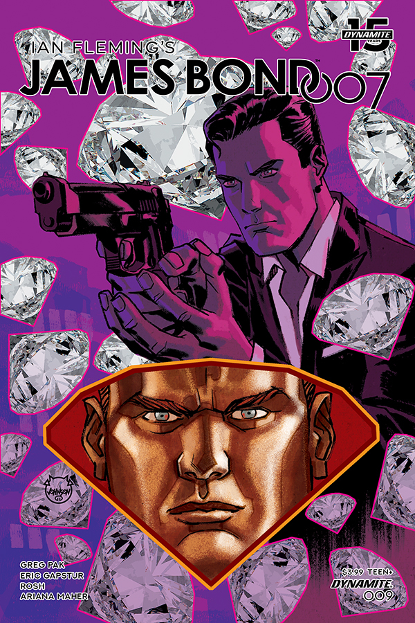 JAMES BOND 007 #9 CVR A JOHNSON