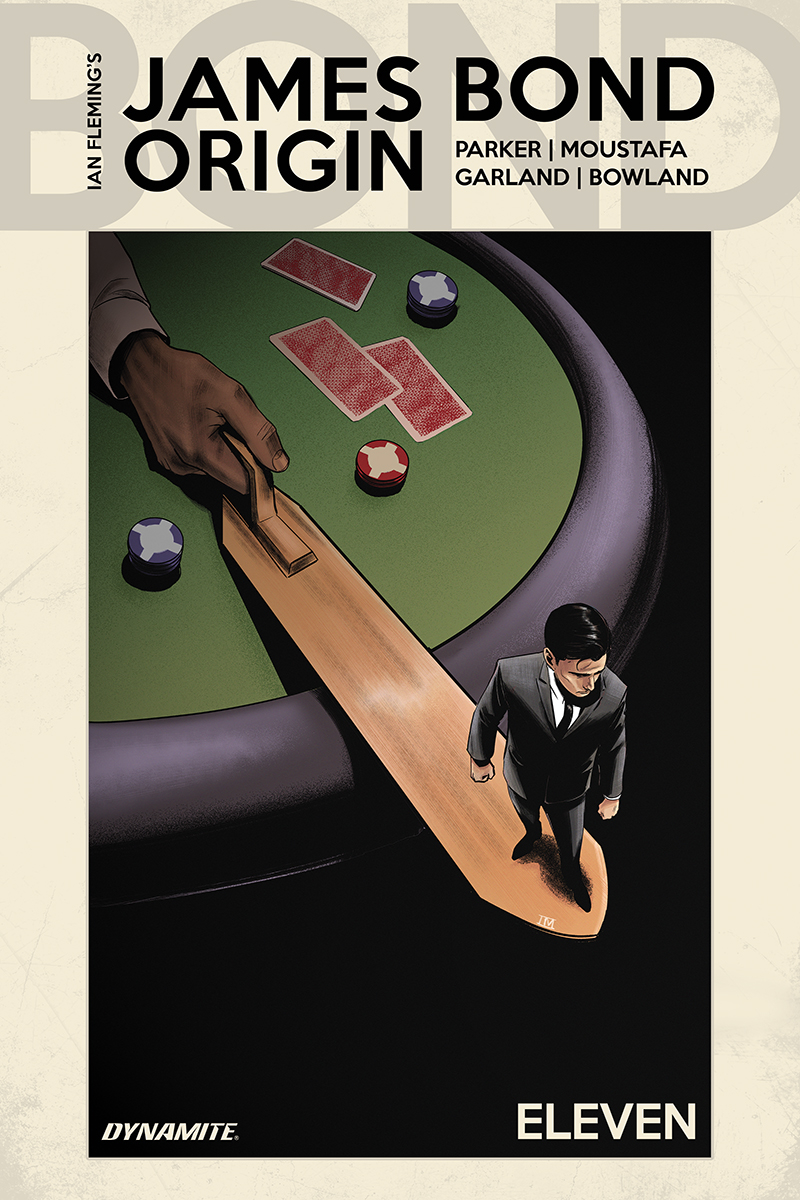 JAMES BOND ORIGIN #11 CVR D MOUSTAFA