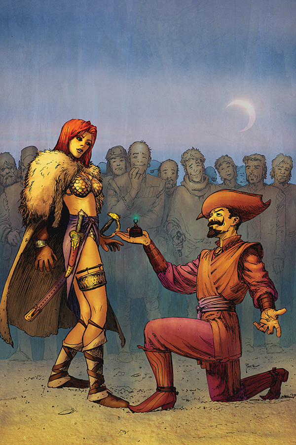 RED SONJA #6 40 COPY PACE VIRGIN INCV