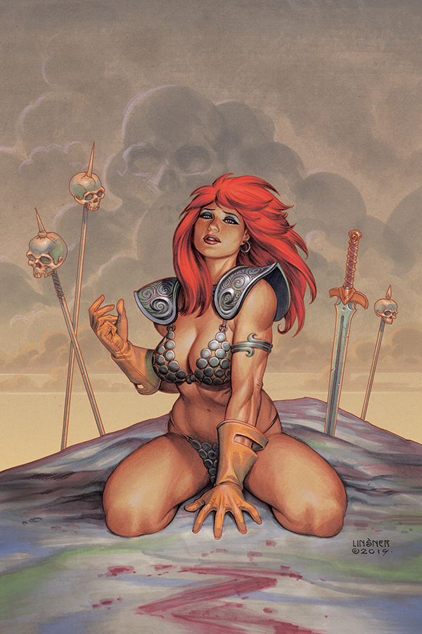 RED SONJA #6 LINSNER VIRGIN CVR
