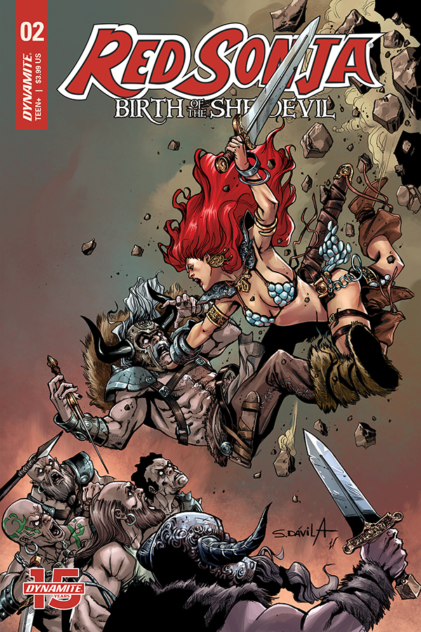 RED SONJA BIRTH OF SHE DEVIL #2 CVR B DAVILA